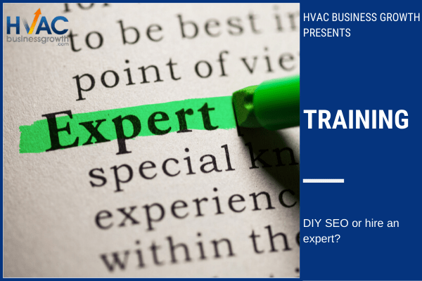 DIY SEO or hire an expert?