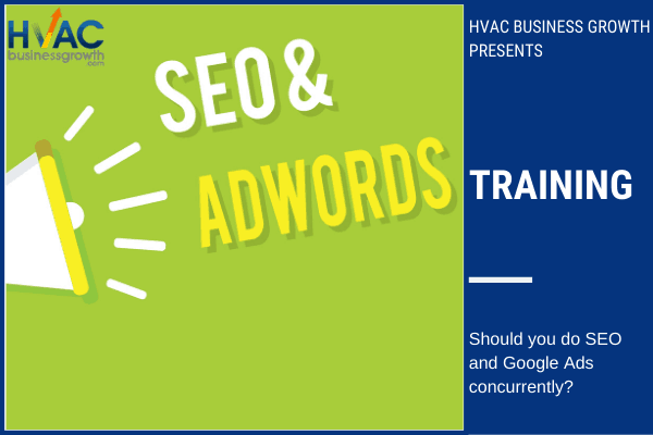 SEO and Google Ads together